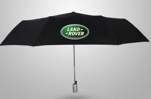 Land-Rover Land Rover Fan Regenschirm Taschenschirm Auto Zubehör Schwarz