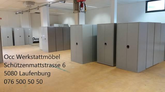 Lista Metallschrank Occasion 80x65x183cm B/T/H