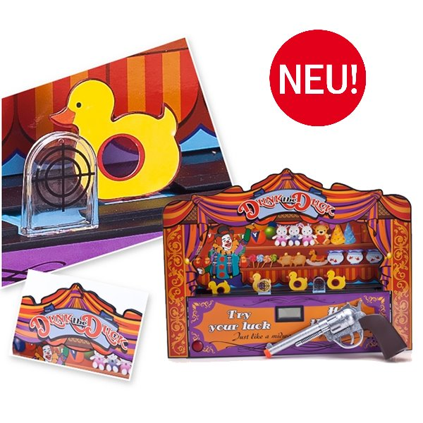Lustige Enten Schiessbude Duck Shoot Kinder Geschenk Enten Jagd Spielzeug