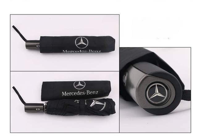 Mercedes-Benz Fan Regenschirm Regen Taschen Schirm Benz Schwarz Geschenk