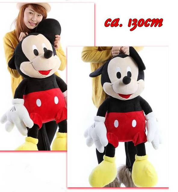 Disney Micky Maus Mickymaus XXL Plüschtier Plüsch Maus Disney Geschenk 130cm Kind Kinder