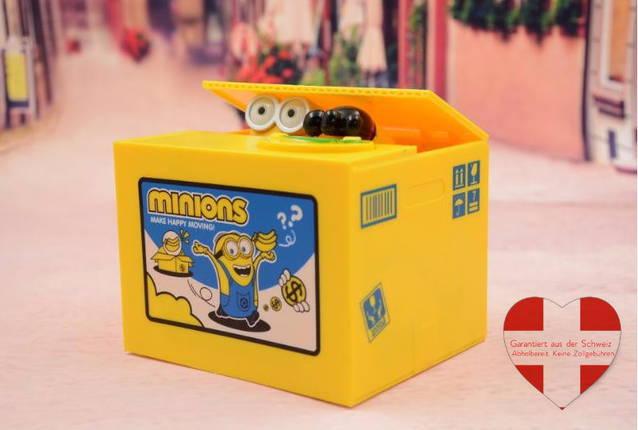 Minions / Ich - einfach unverbesserlich Minion Spardose Sparschwein Geschenk Kind Kinder Sammler Fan Kino Film