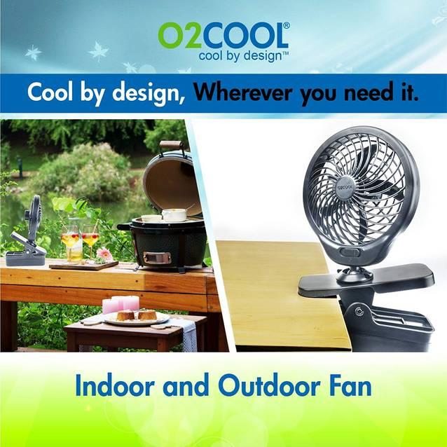 Mobiler Batterien Klipp Clip Ventilator Fan 13cm 360 Grad Batterienventilator Sommer Büro Outdoor Indoor