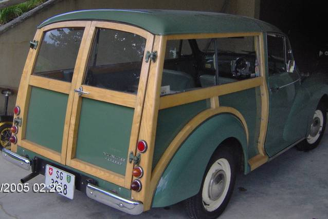 Morris Minor 1000 Traverller 1968 Verteranenfahrzeug