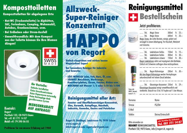 Mundschutz und Desinfektionsmittel