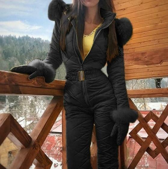Neu Ski suit - color Black