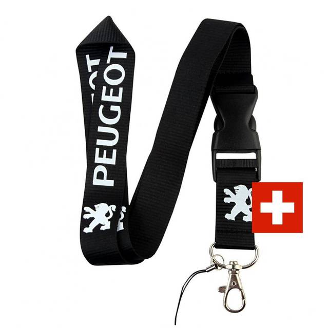 Peugeot Auto Schlüsselband Schlüsselanhänger Schlüssel Anhänger Fan Geschenk