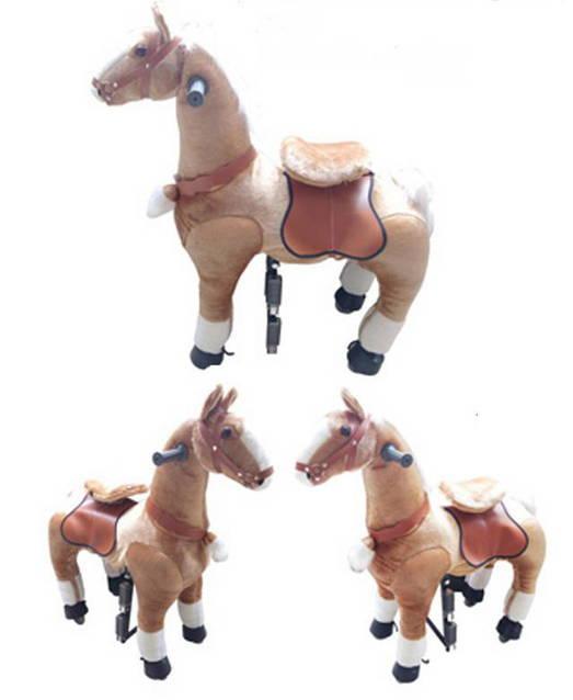Pferd Pony zum Reiten für Kinder Kinderzimmer Spielzeug Mädchen Geschenk Kinder Kind Pferdeschauke Schweiz Wallisl