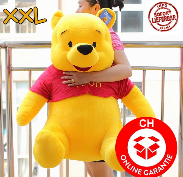 Plüschtier Winnie Pooh XXL Stofftier Geschenk Kind Kinder Frau Freundin Schweiz