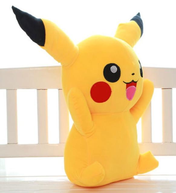Pokemon Pokémon Pikachu 75 - 80cm XXL Plüsch Spielzeug Plüschtier Geschenk NEU