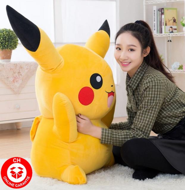 Pokemon Pokémon Pikachu Riesengrosses Plüschtier Plüsch 1.2m Geschenk Kinder Freundin