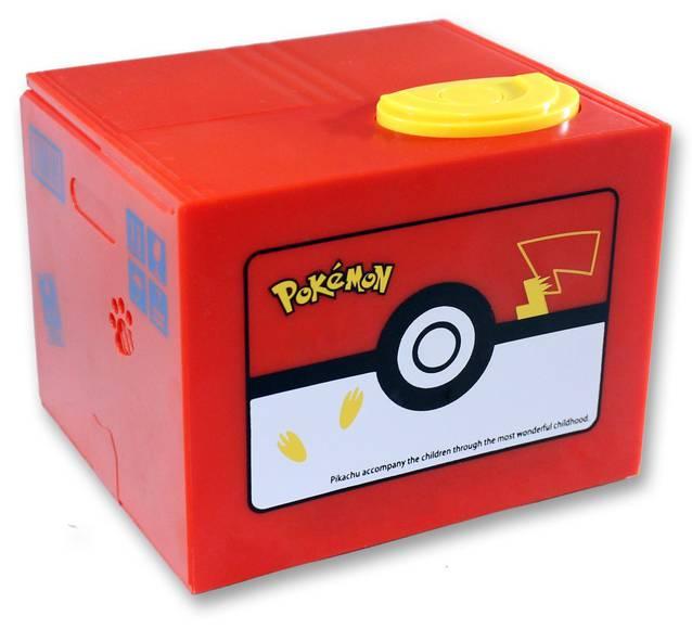 Pokémon Pikachu Geld Sparbox Spardose Sparschein Münz Münzen Box Geschenk Pokemon Geschenk