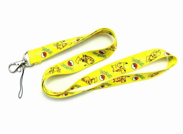 Pokémon Pikachu Pokemon Fan Schlüssel Anhänger Schlüsselanhänger Schlüsselband Band