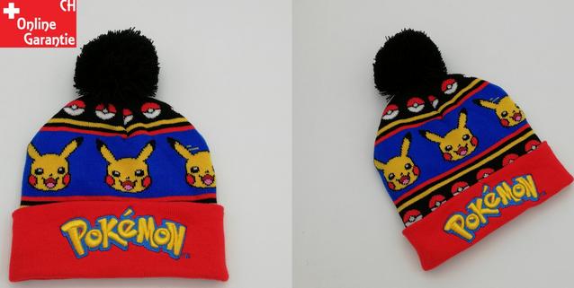 Pokémon Pokemon Fan Winter Kappe Strickmütze Beanie Mütze für Kind Kinder Einheitsgrösse