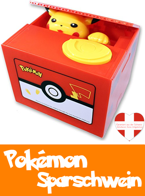 Pokémon Pokemon Pikachu Bank elektronische Spardose Fan Geschenk Fan Kind Kinder