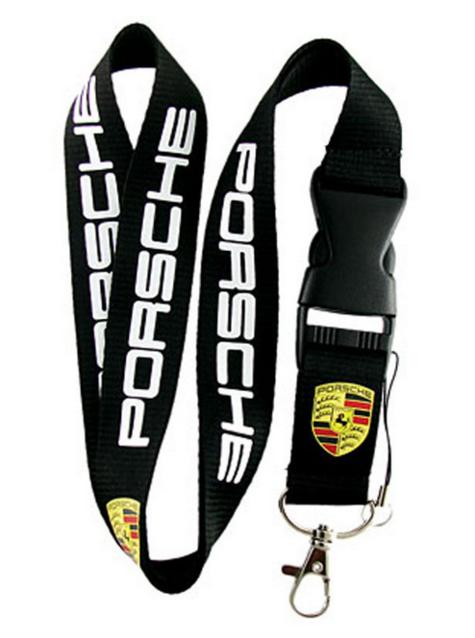 Porsche Auto Fan Anhänger Schlüsselanhänger Schlüssel Anhänger Geschenk Alltag Schwarz Band