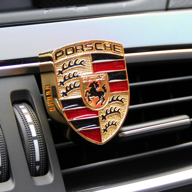 Porsche Auto Lufterfrischer Auto Zubehör Geschenk Fan