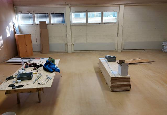 Raum für Werkstatt, Hobbyraum, Lager, Vereinslokal etc.