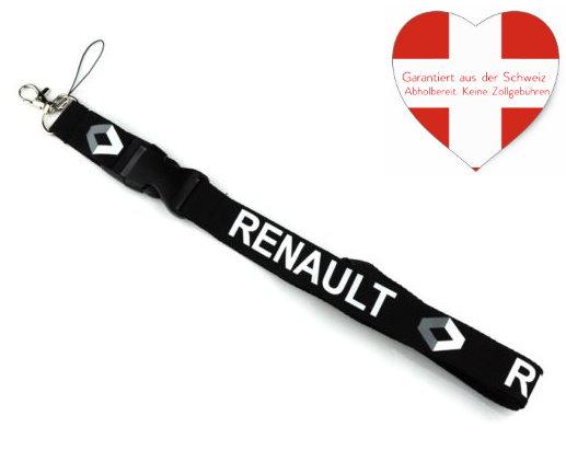 Renault Auto Schlüsselband Schlüsselanhänger Anhänger Fanartikel Accessoir für Auto
