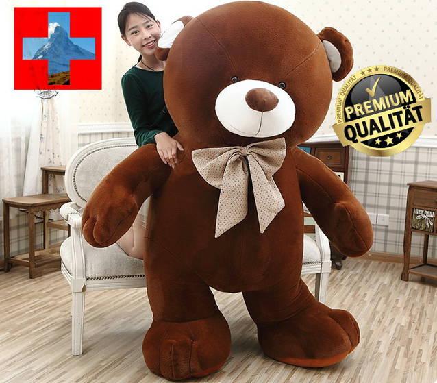 Riesen Gross Teddybär Plüsch Bär Plüschbär Kuschelbär Plüschteddy Bärli Geschenk Hit
