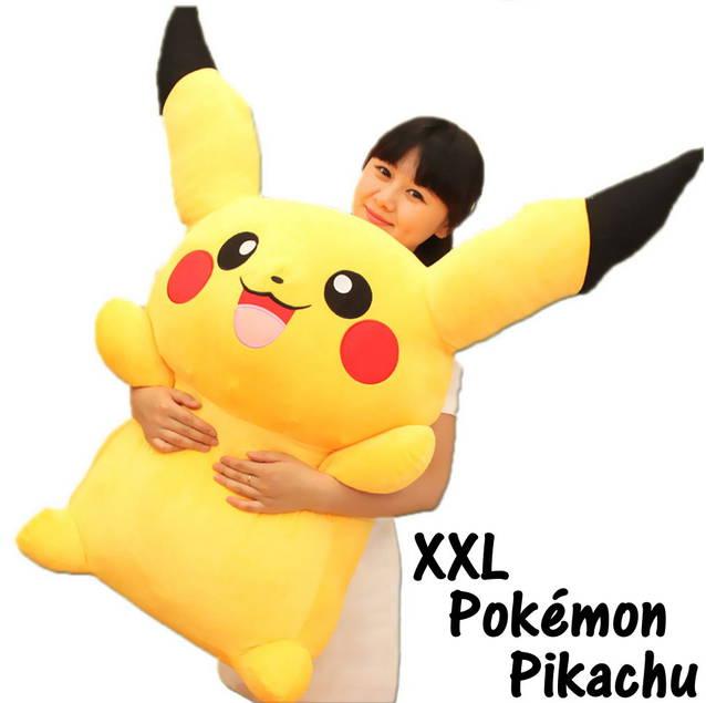 Riesen Pokemon Pikachu Plüsch 120 cm XXL Filmfigur Plüschfigur Geschenk Hit Weihnachten
