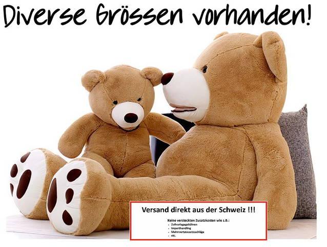 Riesen Teddybär Plüschbär Stofftier 160cm Gross USA Hit Teddy Geschenk Gross Ted