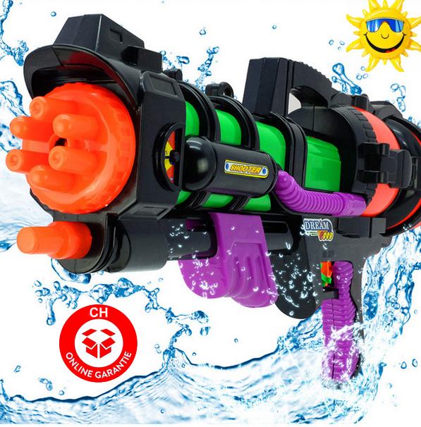 Riesengrosses Wasserpistole Wassergewehr 60cm Wasser Gewehr Spielzeug Sommer