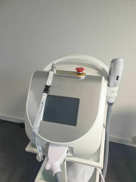 SHR IPL Laser Gerät zur dauerhaften Haarentfernung