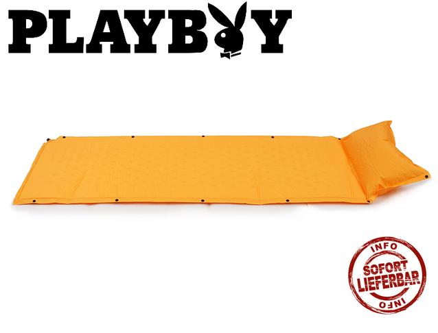Selbstaufblasbare Playboy Luftmatratze Luft Matratze Schlafsack Openair
