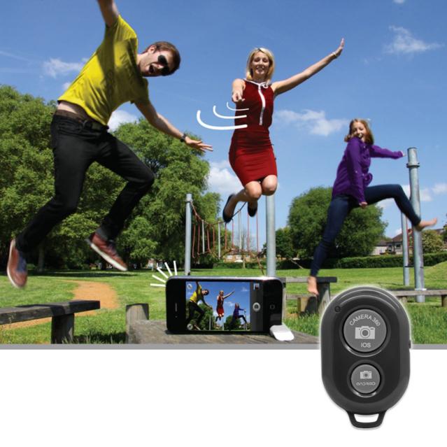 Selfie Selbstauslöser iPhone iOS Android Samsung HTC Sony Smartphone Natel Foto Handstativ Fernbedienung Instagram Selfiestick Stick Bluetooth Auslöser