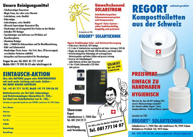 Solar und Notstrom system & Komposttoilette