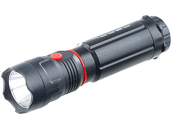 Stablampe mit starker LED - 2in1, Taschenlampe