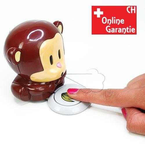 Süsser Nagellacktrockner Nägel Lack Trockner Affe Geschenk Freundin Frau