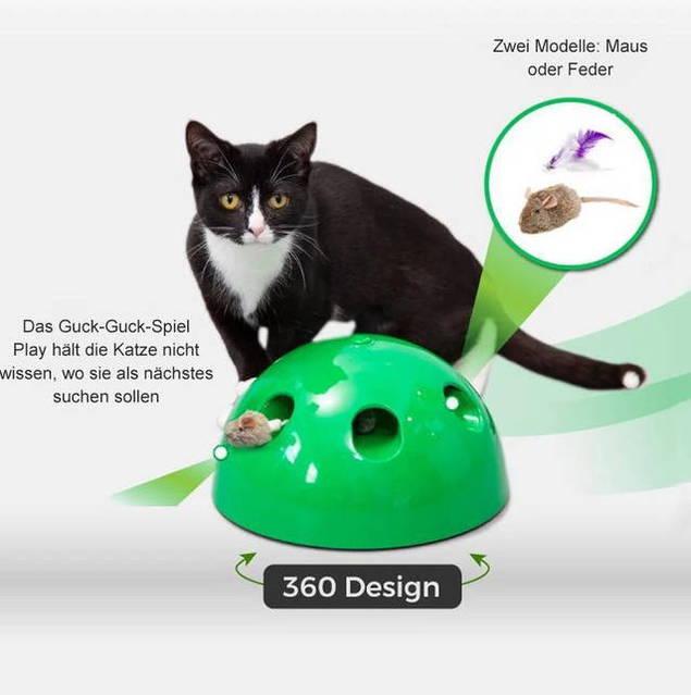TV Werbung Interaktives Katzenspielzeug Katzen Spielzeug Zuhause Unterhaltung Spass Indoor