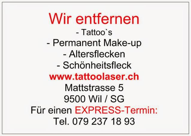 Tattooentfernung