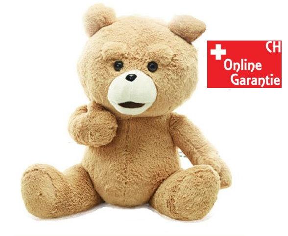 Teddy Bär TED Kinofilm XL Kuschtier braun ca. 60cm Original Plüschbär Plüschteddy