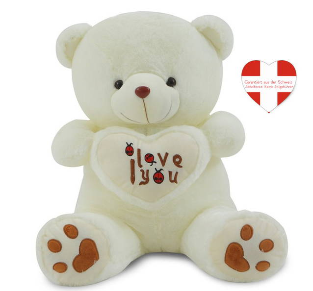 Teddy Teddybär ca. 120cm Plüsch Bär Bärchen Valentinstag Geschenk Frau Freundin Liebe Love