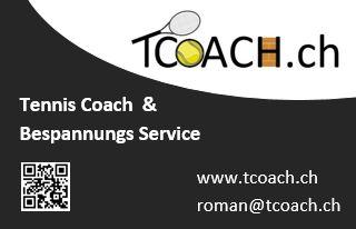 Tennis Coach - Trainer Region St.Gallen Bodensee
