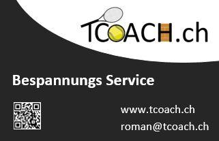 Tennis Schläger bespannen / besaiten