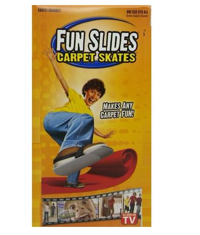 Teppich Skater Gleiter Teppichgleiter Fun Slides Kind Kinder Spass Wohnung Skaten Spielzeug