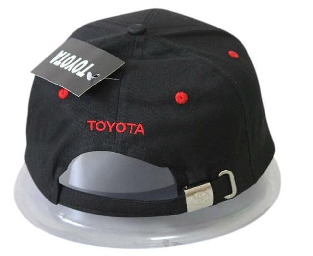 Toyota Auto Fan Liebhaber Kappe Mütze Kleidung Baseballkappe Neuheit Flammen