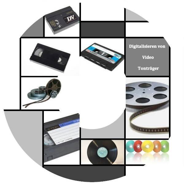 Transfer von VHS/Hi8/Video8