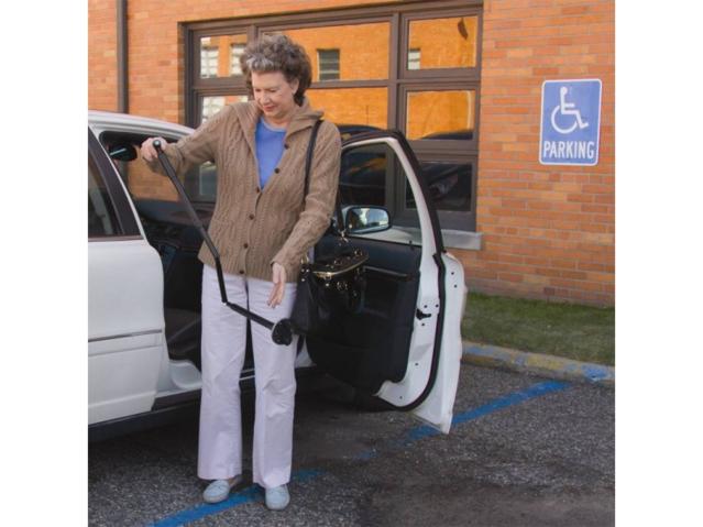 Trusty Cane LED der Gehstock für mehr Sicherheit im Alltag Licht Rentner Altersheim Hilfe