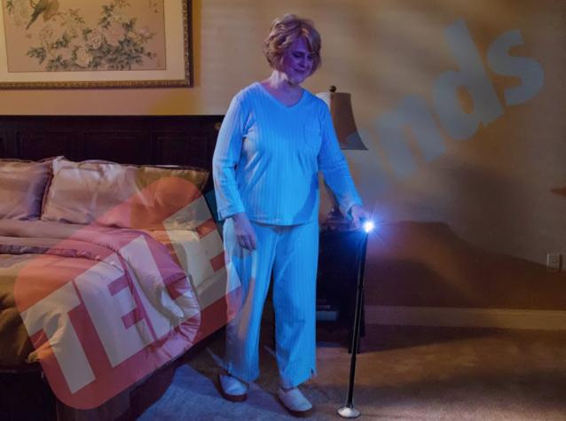 Trusty Cane LED der Gehstock für mehr Sicherheit im Alltag