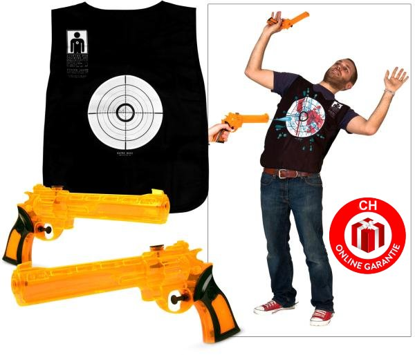 Wasserpistole Wasser Pistolen Westen Set Spielzeug Sommer Spass