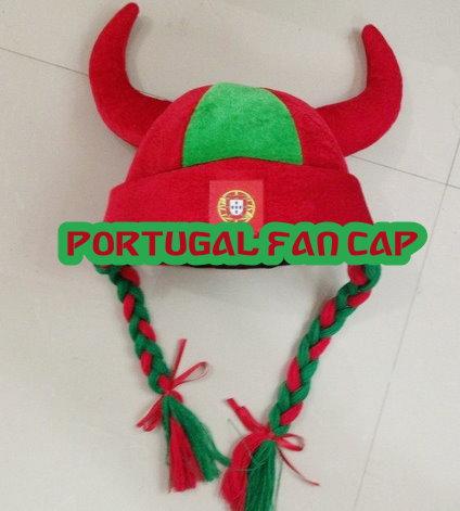Wikingerhut Portugal Hut Kappe Cap Mütze Fussball WM EM Fan Support