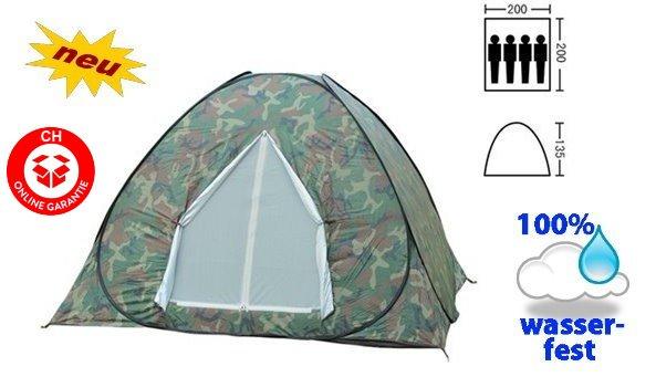 Wurf Zelt Wurfzelt Zelt Zält Schnell Zelt Openair Militär Wasserfest Schnäll Rapid Schnell Openair Camping Outdoor Regenfest