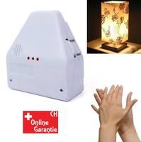 Clapper Klatschschalter Akkustikschalter CH Steckdose Lampen Klatsch Schalter Clapper bekannt aus dem TV
