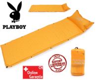 Selbstaufblasbare Playboy Schlafmatte Schlafsack Matratze Camping Festival Openair Kult Hase Kleines Packmass, geringes Gewicht, hoher Komfort.