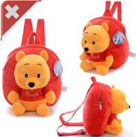 Disney Winnie the Pooh Pu der Bär Kind Kinder Plüsch Rucksack Fan